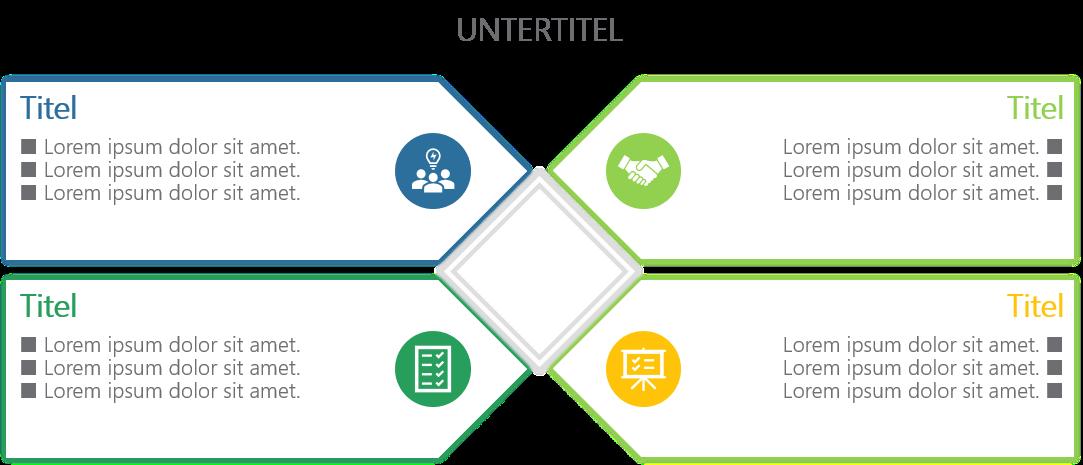 PowerPoint Vorlage: Matrix Charts