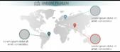 PowerPoint Vorlage: Unsere internationalen Filialen