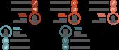 PowerPoint Vorlage: Teamvorstellung in Kreisen