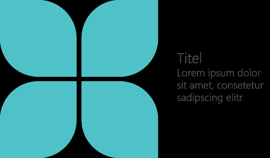 PowerPoint Vorlage: Titelfolie mit Blume
