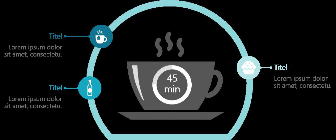 PowerPoint Vorlage: Break time