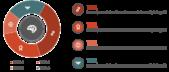 PowerPoint Vorlage: Ringdiagramm mit Piktogrammen