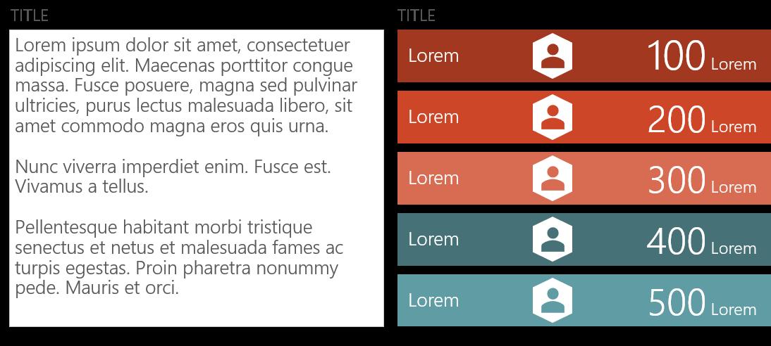 PowerPoint Vorlage: Gegenüberstellung von Teammitgliedern