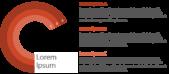 PowerPoint Vorlage: Vertriebsfaktoren in zwiebelartiger Darstellung