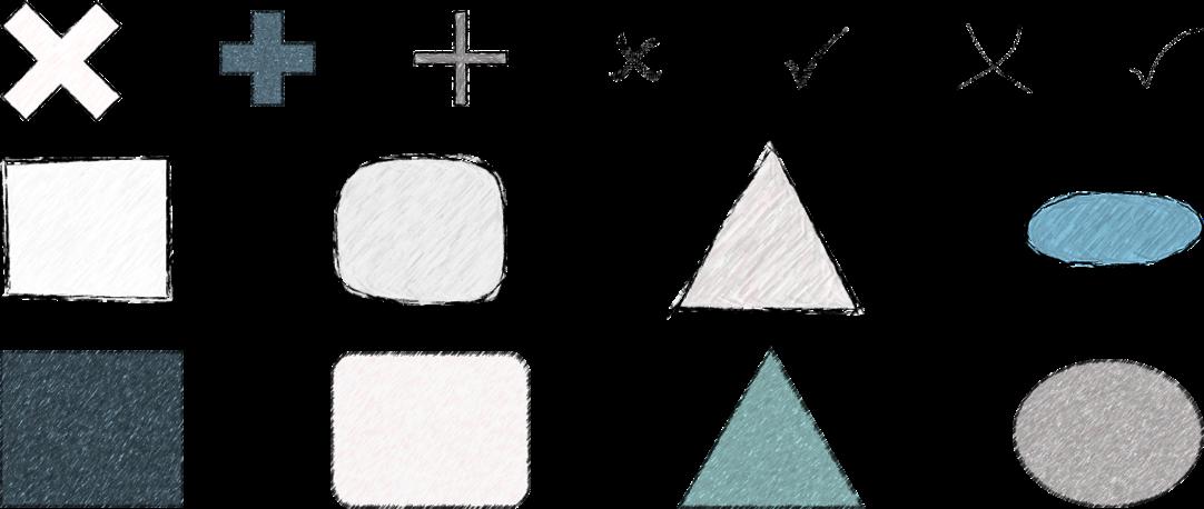 PowerPoint Vorlage: Skizzenhafte Mindmap Erweiterung