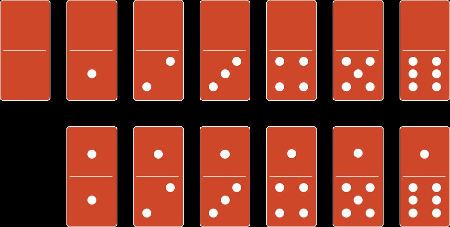 PowerPoint Vorlage: Domino-Steine-Vorlagen