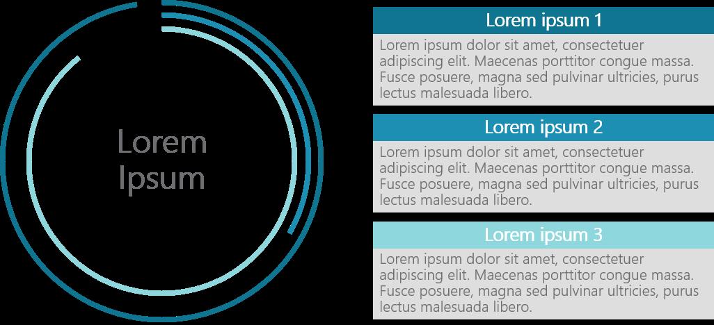 PowerPoint Vorlage: Vertriebsstrategie mit kreisförmigen Diagramm