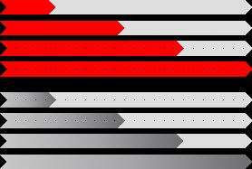 PowerPoint Vorlage: Fortschrittsanzeige mit kleinen Pfeilen