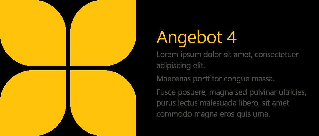 PowerPoint Vorlage: Aufzählung mit Blüten und Bildern