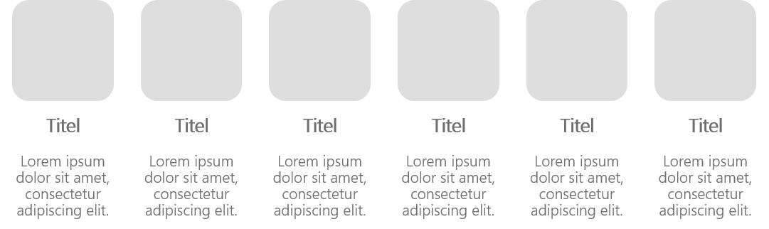 PowerPoint Vorlage: Bildlayout für einzelne Produkte