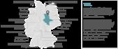 PowerPoint Vorlage: Bundesländer mit Hauptstädten