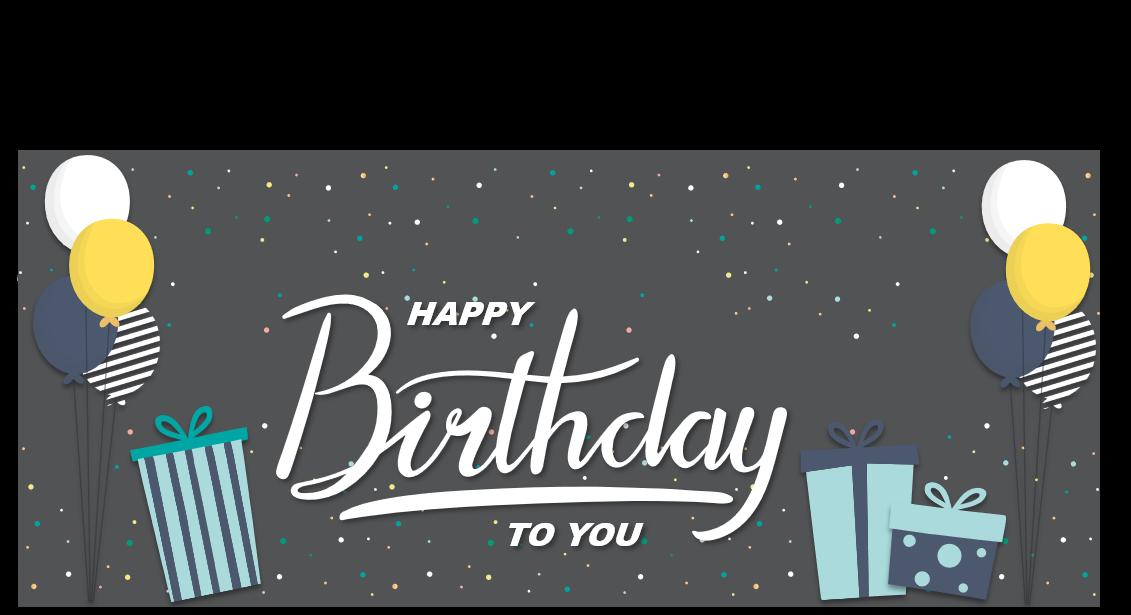 PowerPoint Vorlage: Geburtstagswünsche