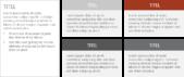 PowerPoint Vorlage: Text und Aufzählungen mit Platzhalter