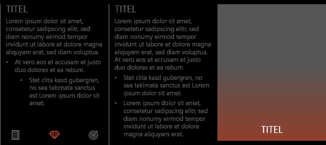 PowerPoint Vorlage: Text und Aufzählungen mit Bild