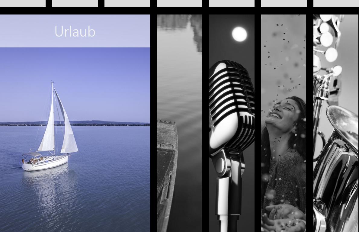 PowerPoint Vorlage: Storytelling mit 5 Bildern
