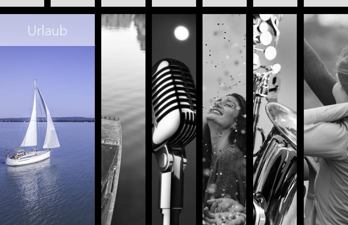 PowerPoint Vorlage: Storytelling mit 6 Bildern