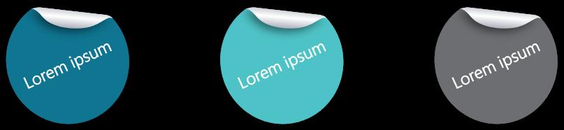 PowerPoint Vorlage: Sticker als Siegel