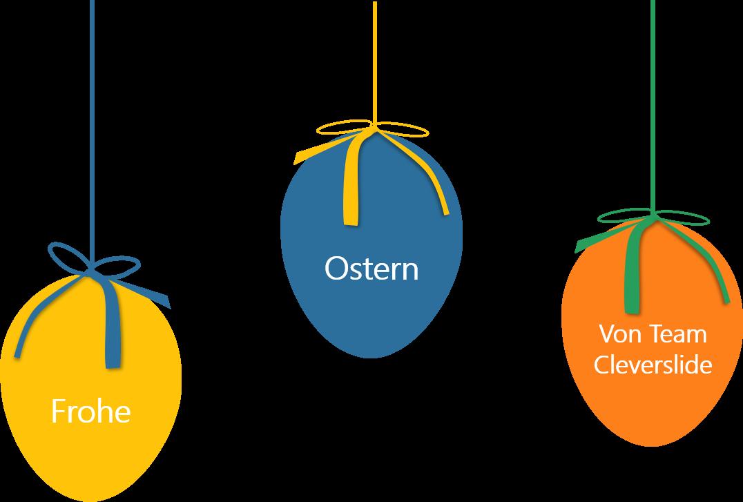 PowerPoint Vorlage: Osterwünsche