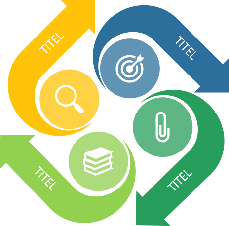 PowerPoint Vorlage: Flowchart Pfeile im Kreis